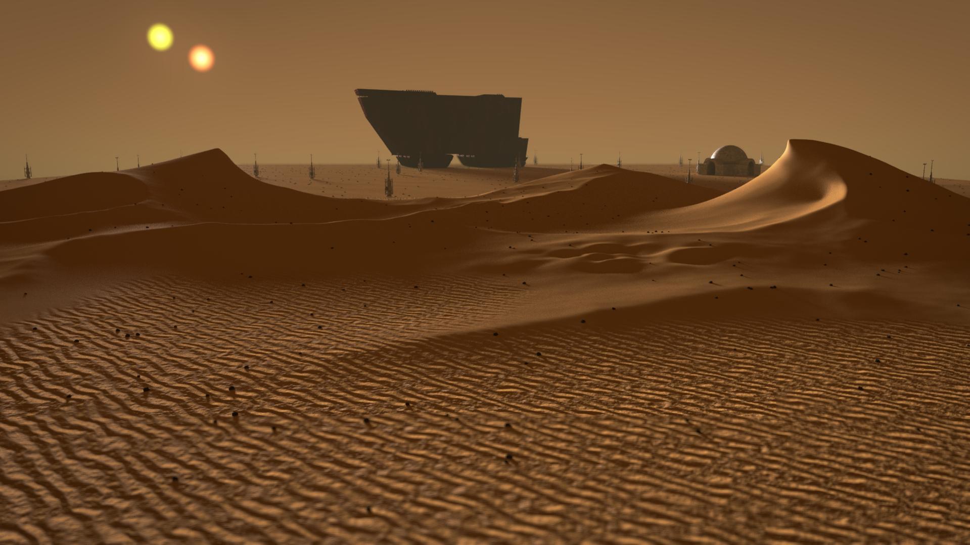 Tatooine - Works in Progress - Blender Artists Community