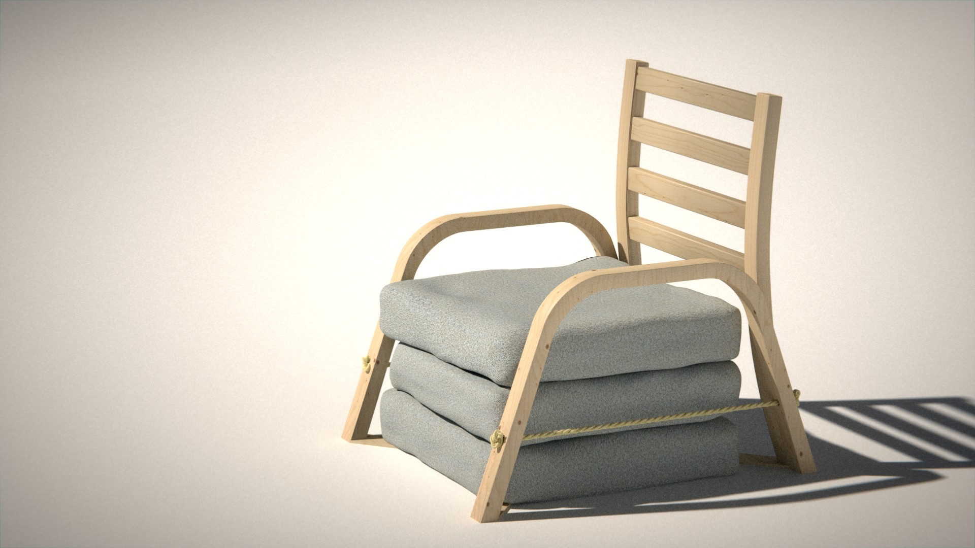 Awe Inspiring Chair Bed Works In Progress Blender Artists Community Pabps2019 Chair Design Images Pabps2019Com