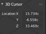 3dCursorLocation