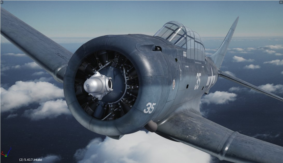 SBD Dauntless (US Navy dive bomber) - Works in Progress
