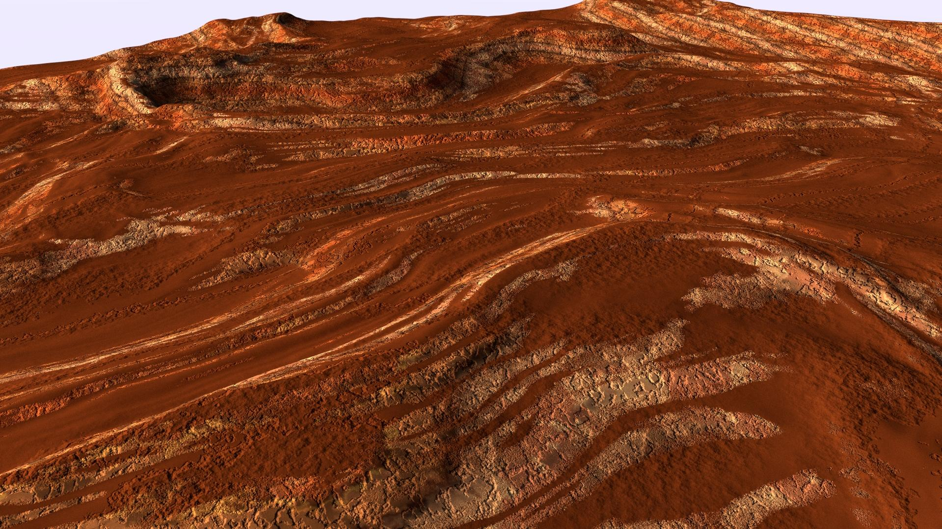 Procedural terrain texture - Cycles - Focused Critiques