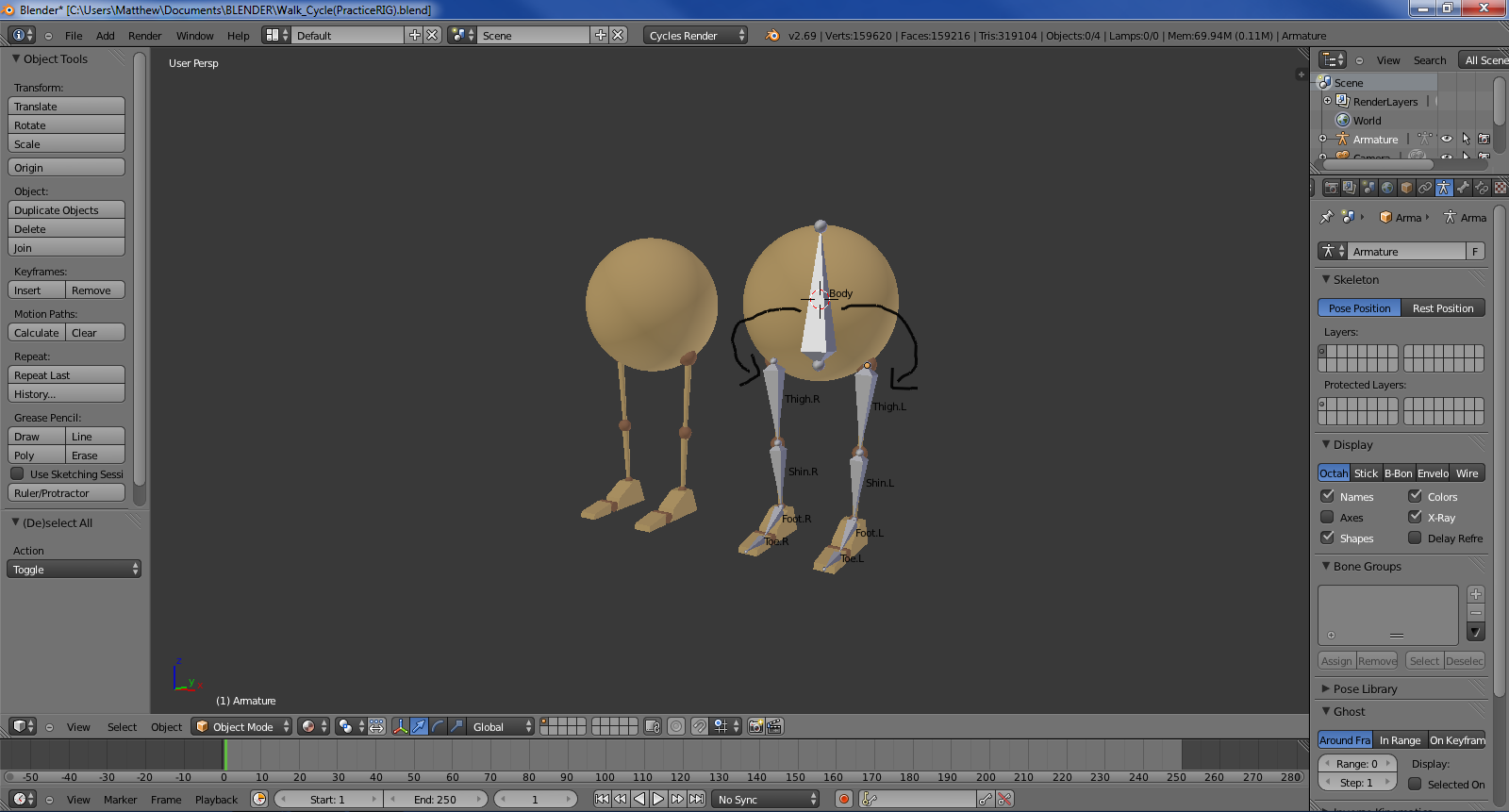 IK Rig controlled by body (HELP NEEDED) :) - Animation and