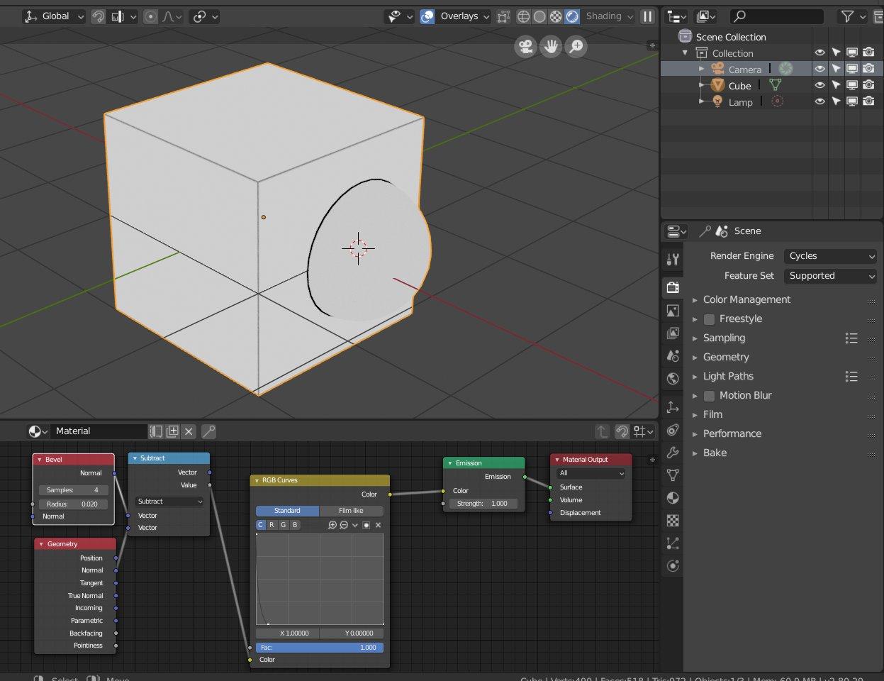 Edge node in 2 8? - Blender 2 8 - Blender Artists Community