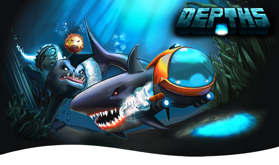 Depths - Free Android Game - Blend of Handdrawn and 3D
