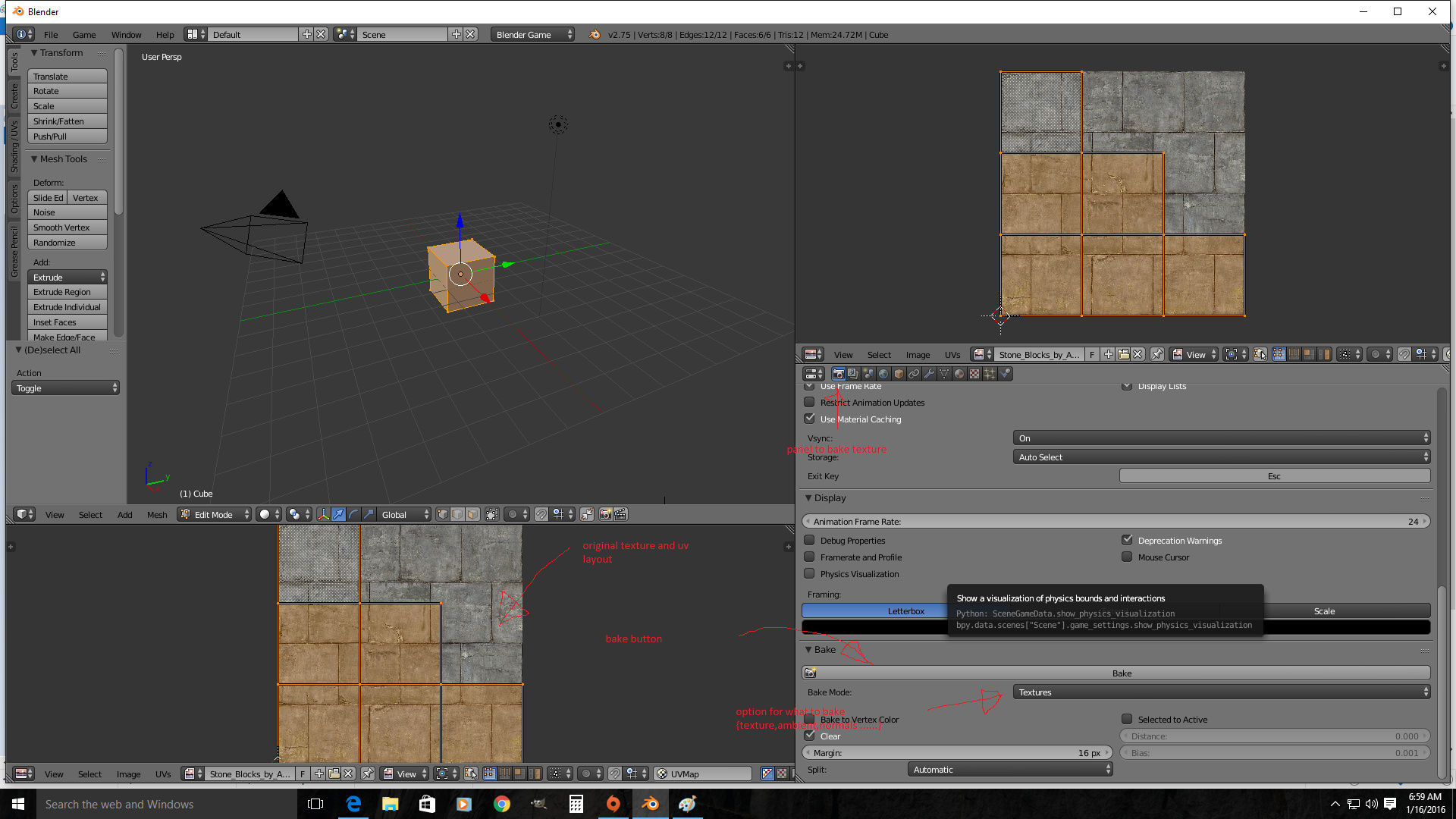 How do i get HD Textures and Materials in BGE - Game Engine