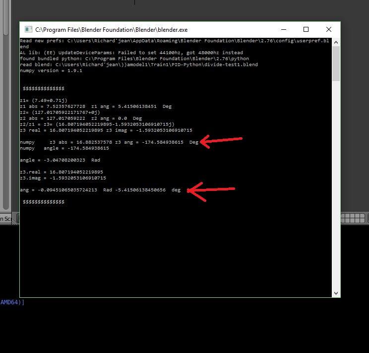 Confirm Numpy Bug ! - Python Support - Blender Artists Community