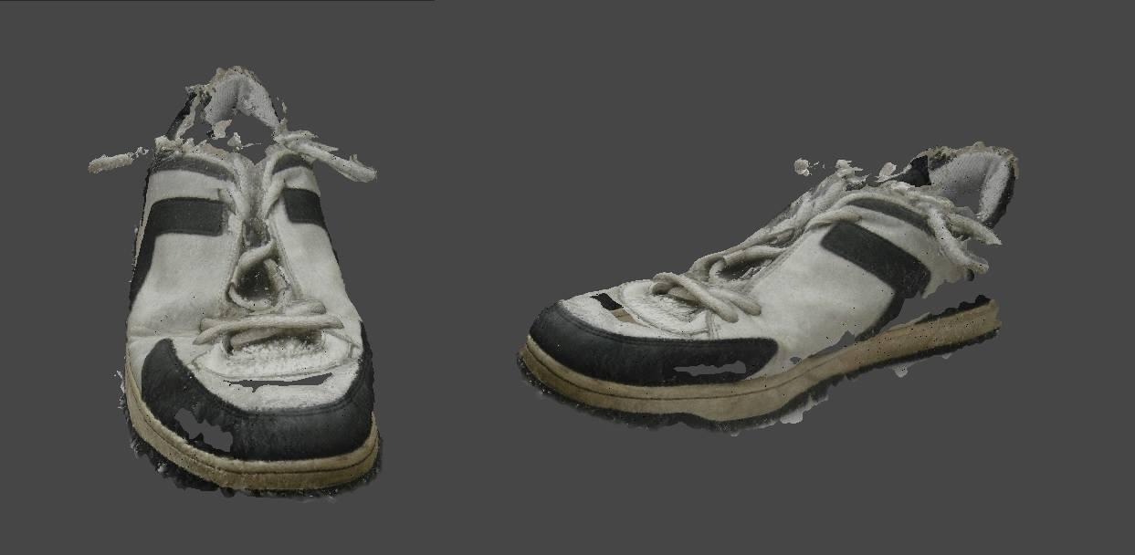 Shoe_Photogrammetrry_test_AgisoftPhotoscan