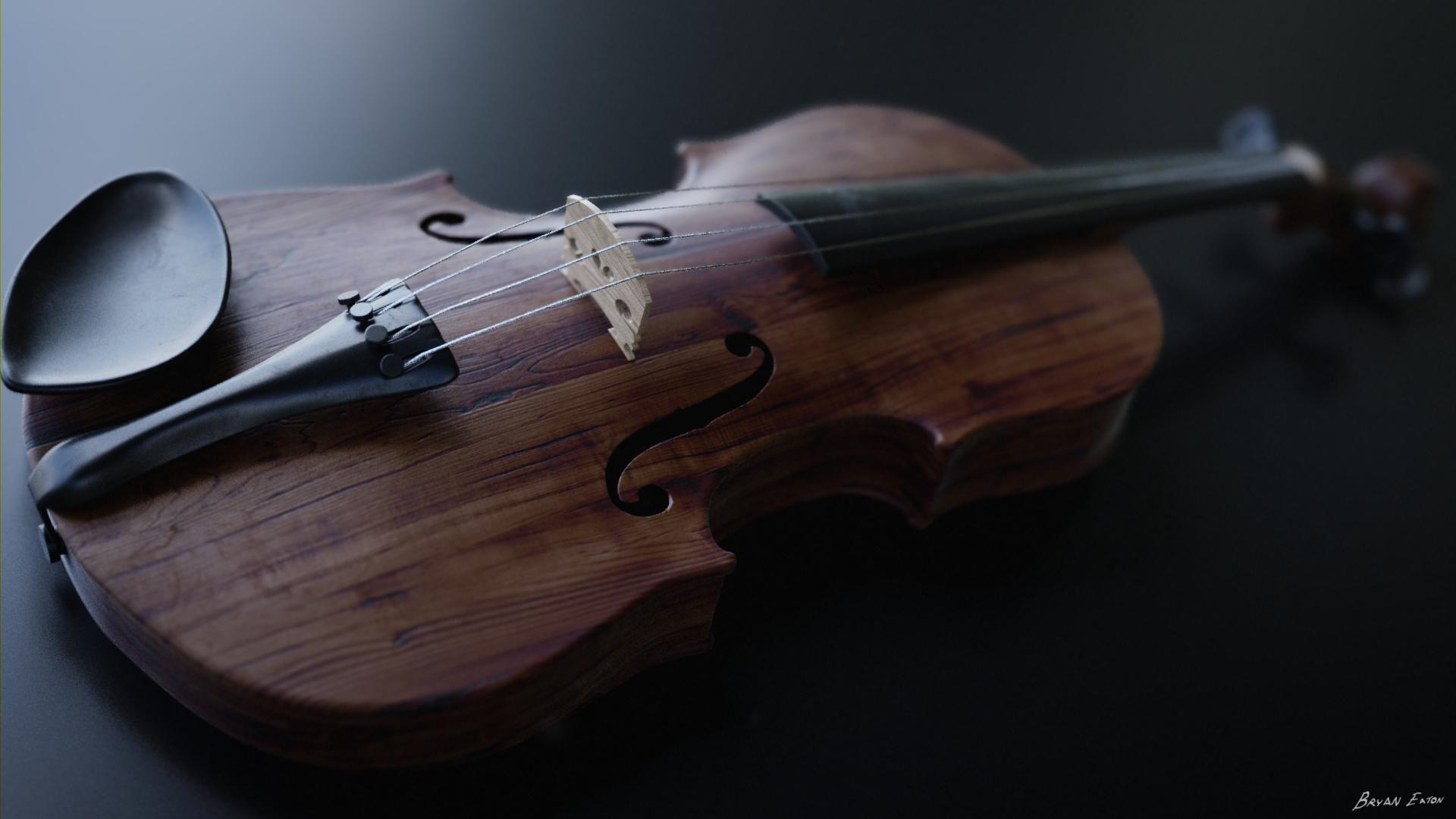Violin - Finished Projects - Blender Artists Community