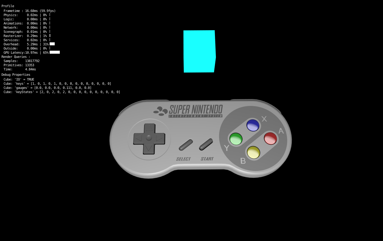UPBGE joystick doesn't work - Game Engine Support and Discussion