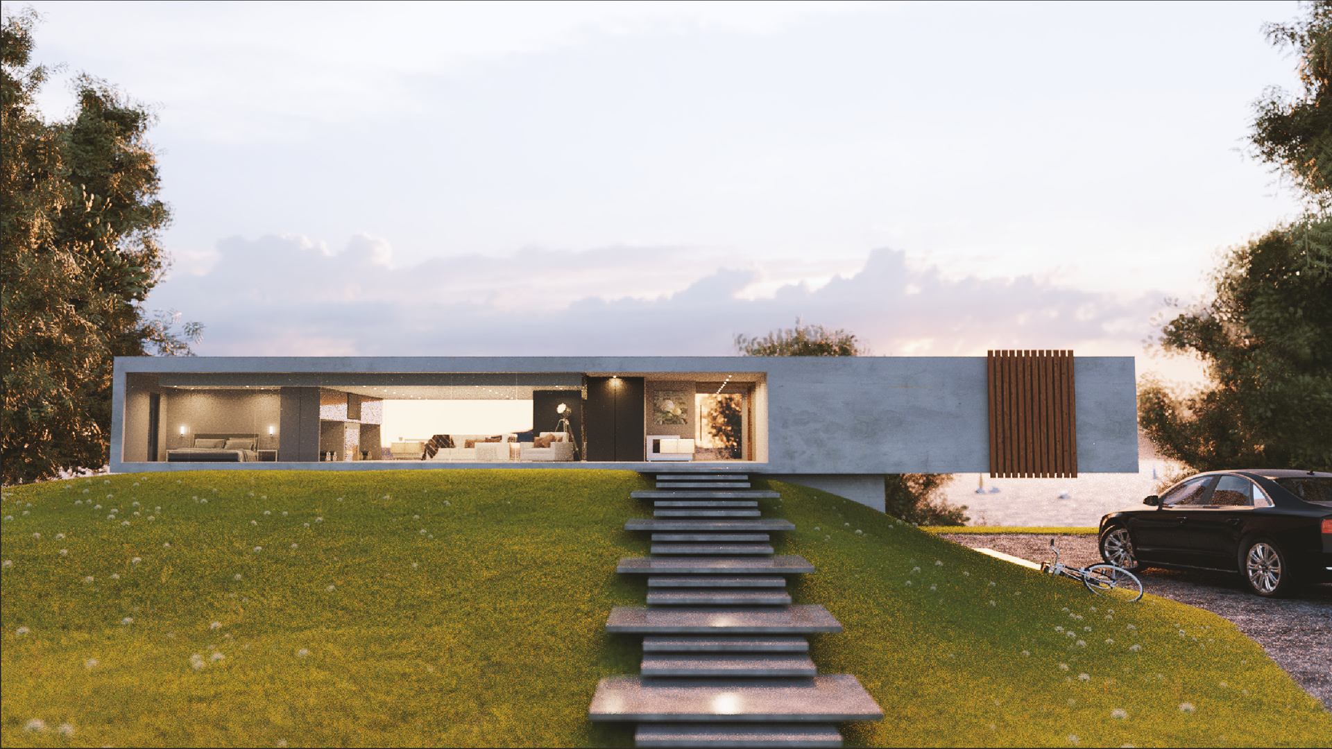 Contemporary Architecture Visualization - Finished Projects ...