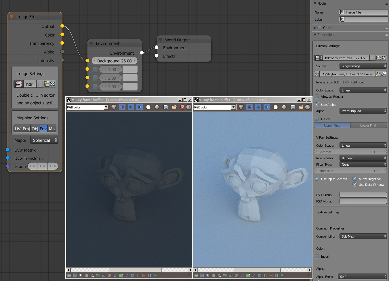 VRay Soft Shadows on CUDA - Other Software - Blender Artists