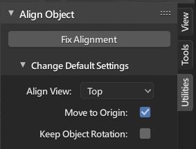 align_object_fix