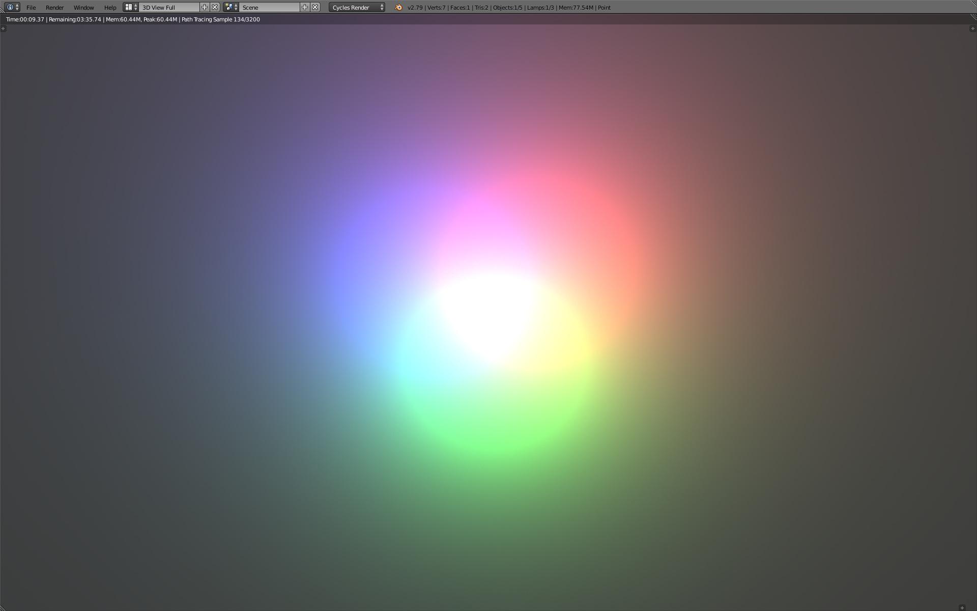 strange circles from point lights lighting and rendering blender