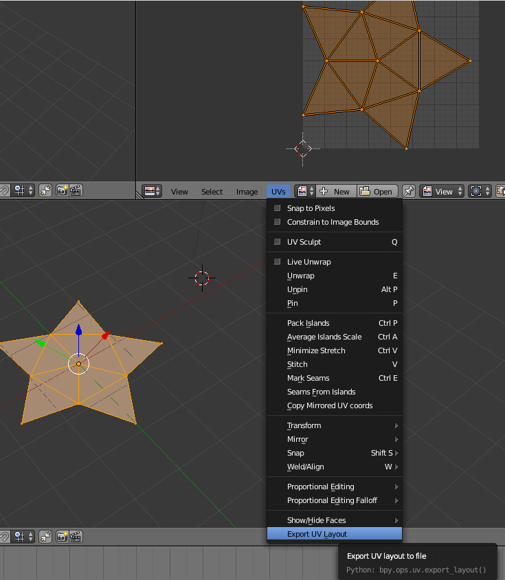 Both import uv map nd texture paint in blender Materials and