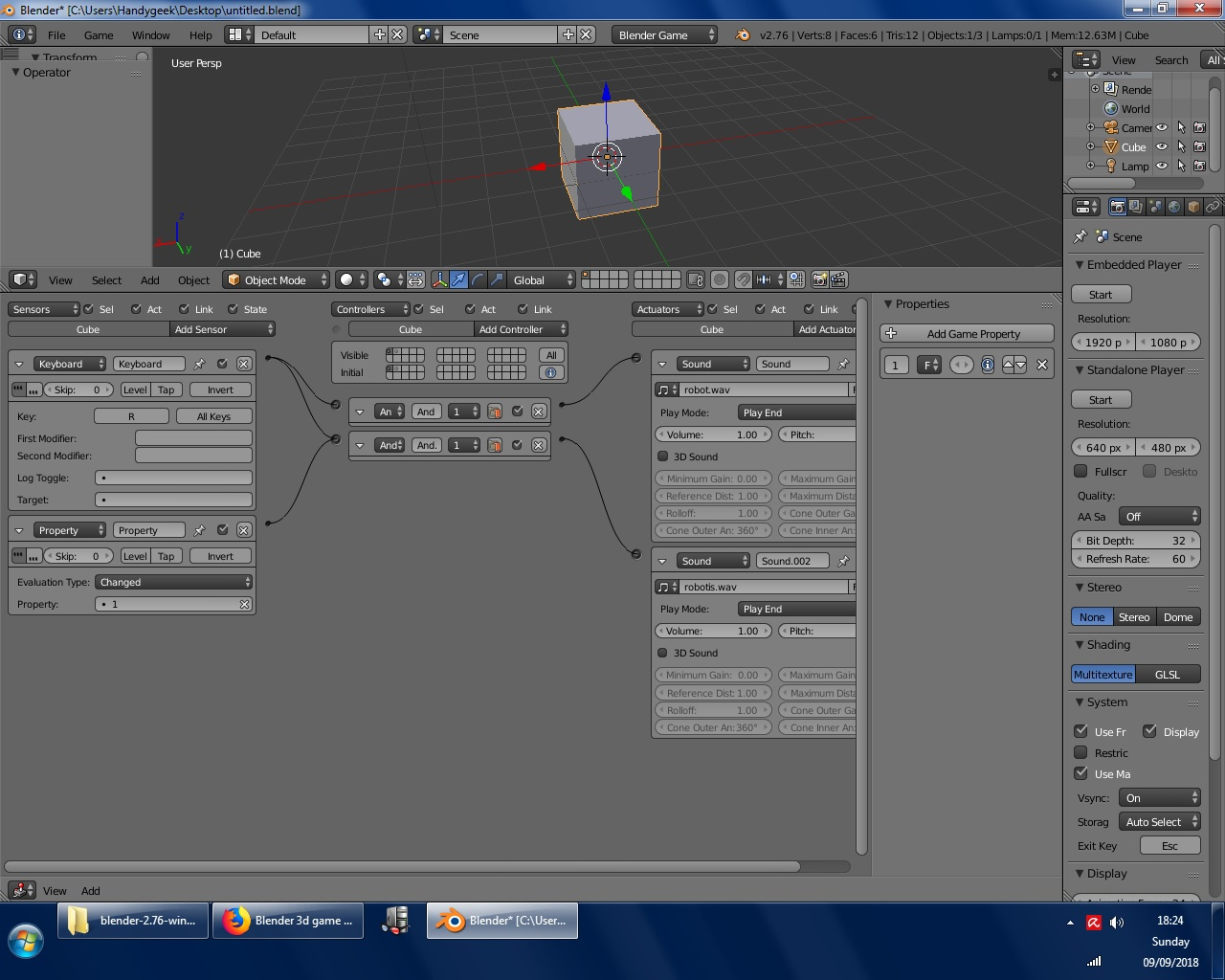 Multiple sound brick program - Game Engine Support and