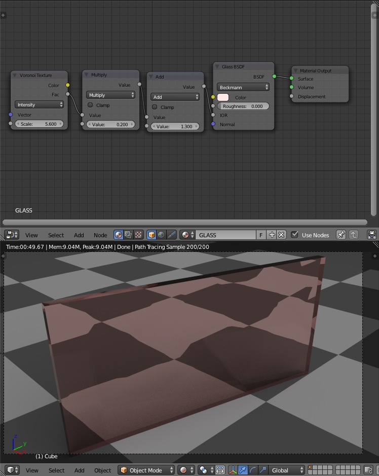 Different IOR values in a single material? - Materials and Textures -  Blender Artists Community