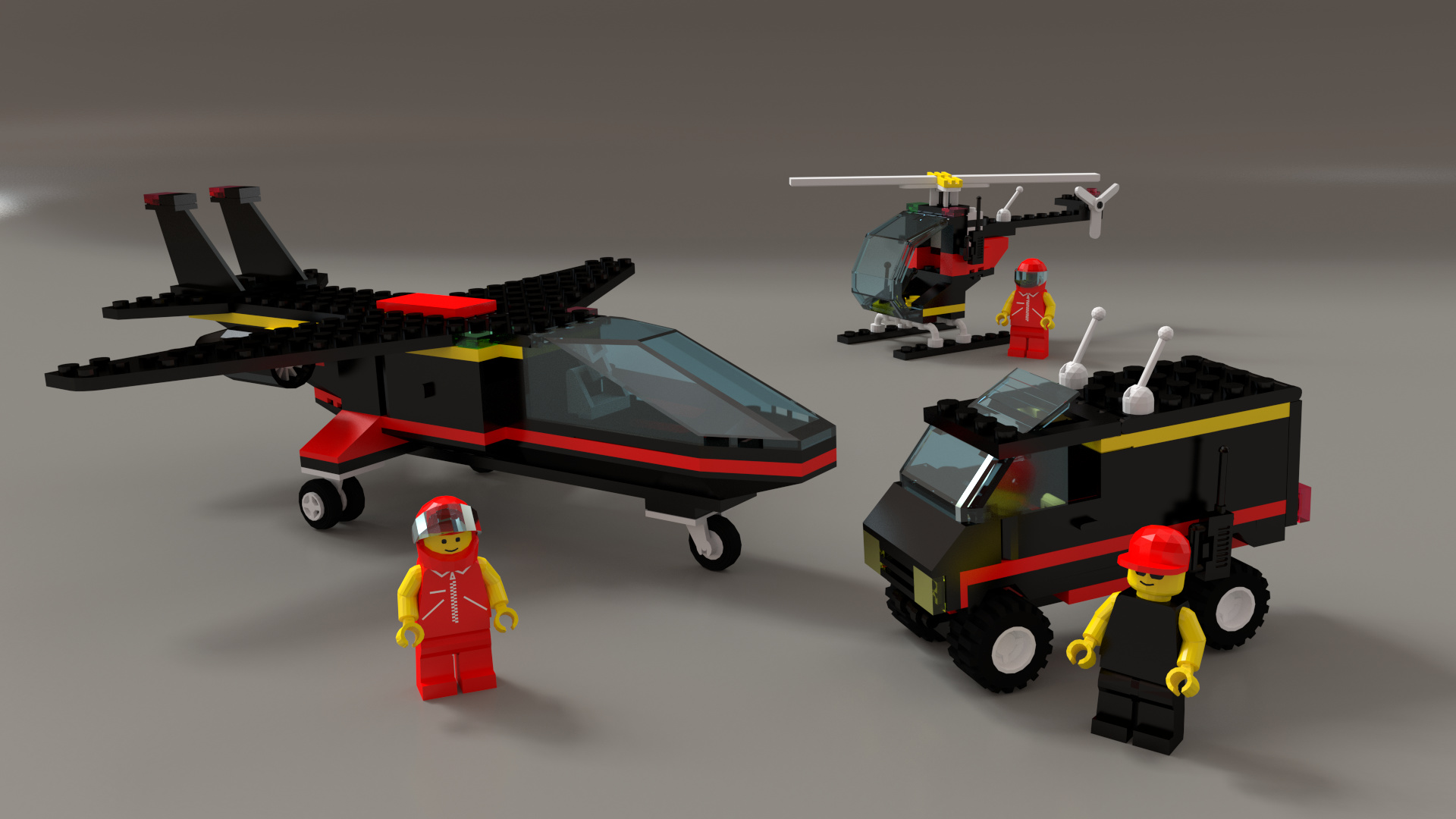1687 Midnight Transport - Finished Projects - Blender