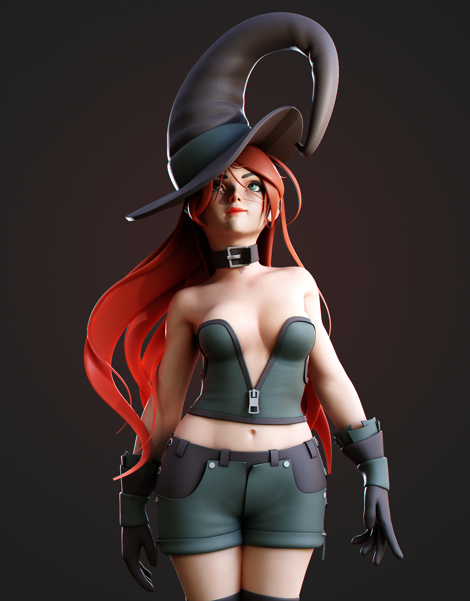 The Witch Character Creation - Sculpting, Texturing and