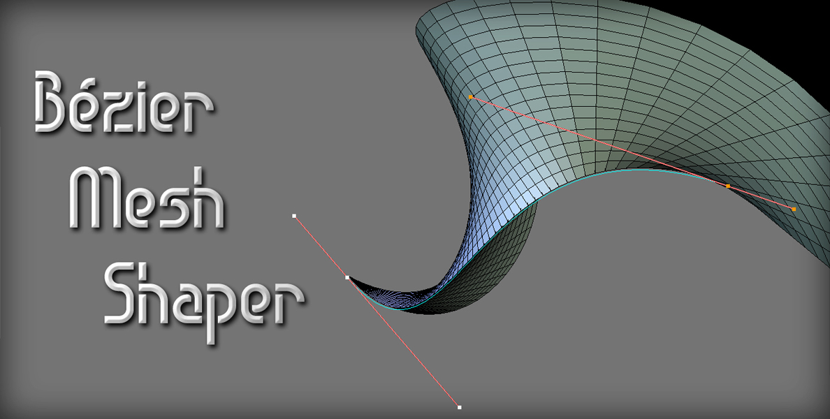 Bézier Mesh Shaper v0 9 0 - Released Scripts and Themes - Blender