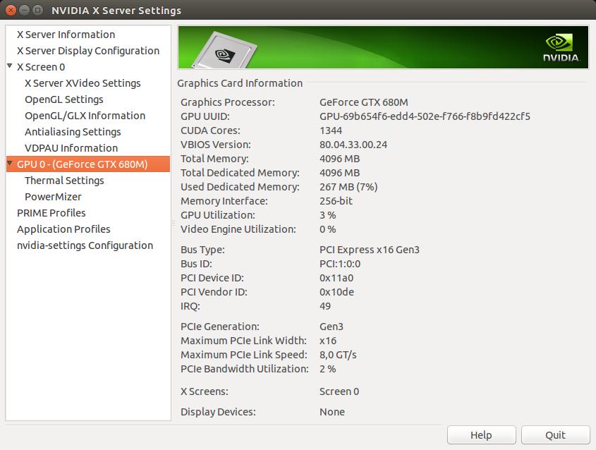 CUDA compute in Ubuntu, for Notebook with discrete Nvidia