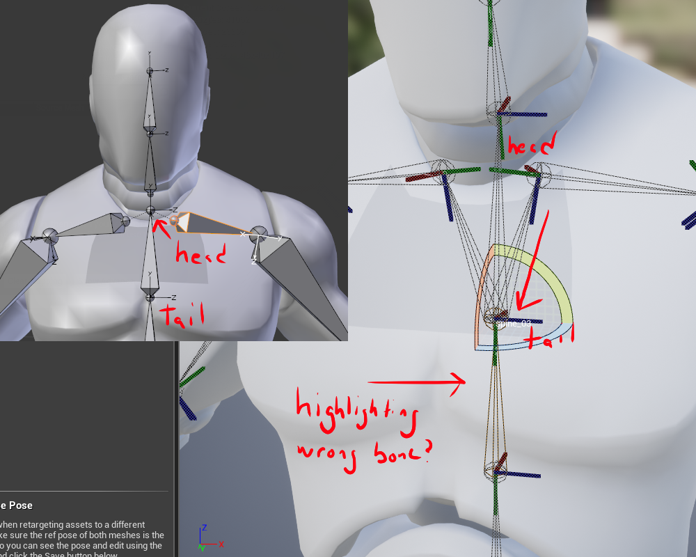 Rigging in Blender to match UE4 character rig - possible