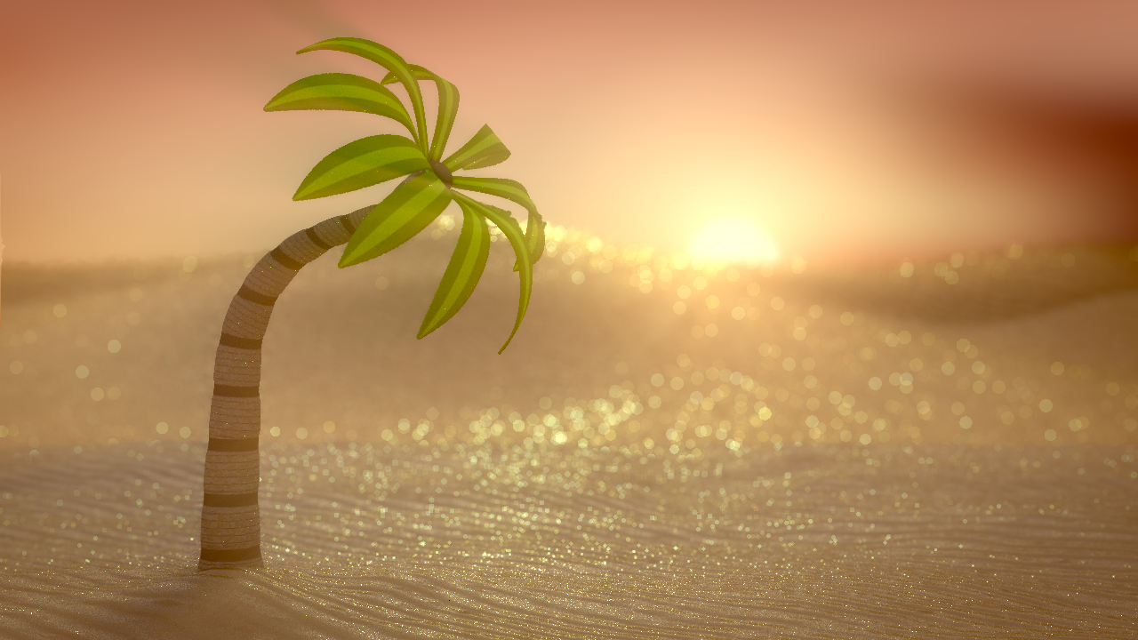 Christmas Tree In The Desert.Christmas Tree In The Desert Works In Progress Blender