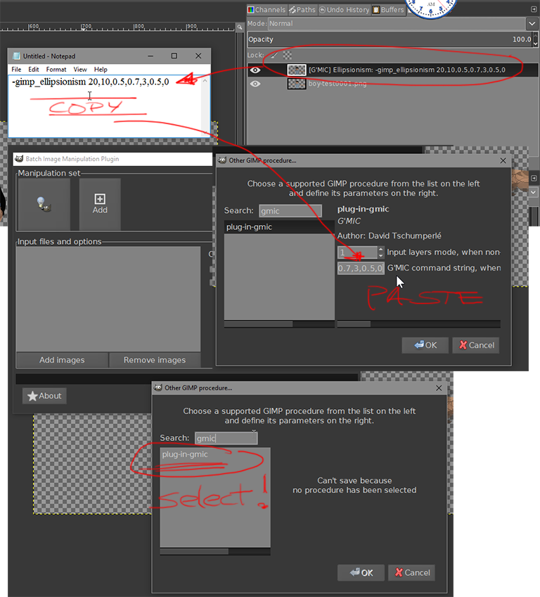 Pshop actions in Gimp 2 9 or Krita ? - Other Software