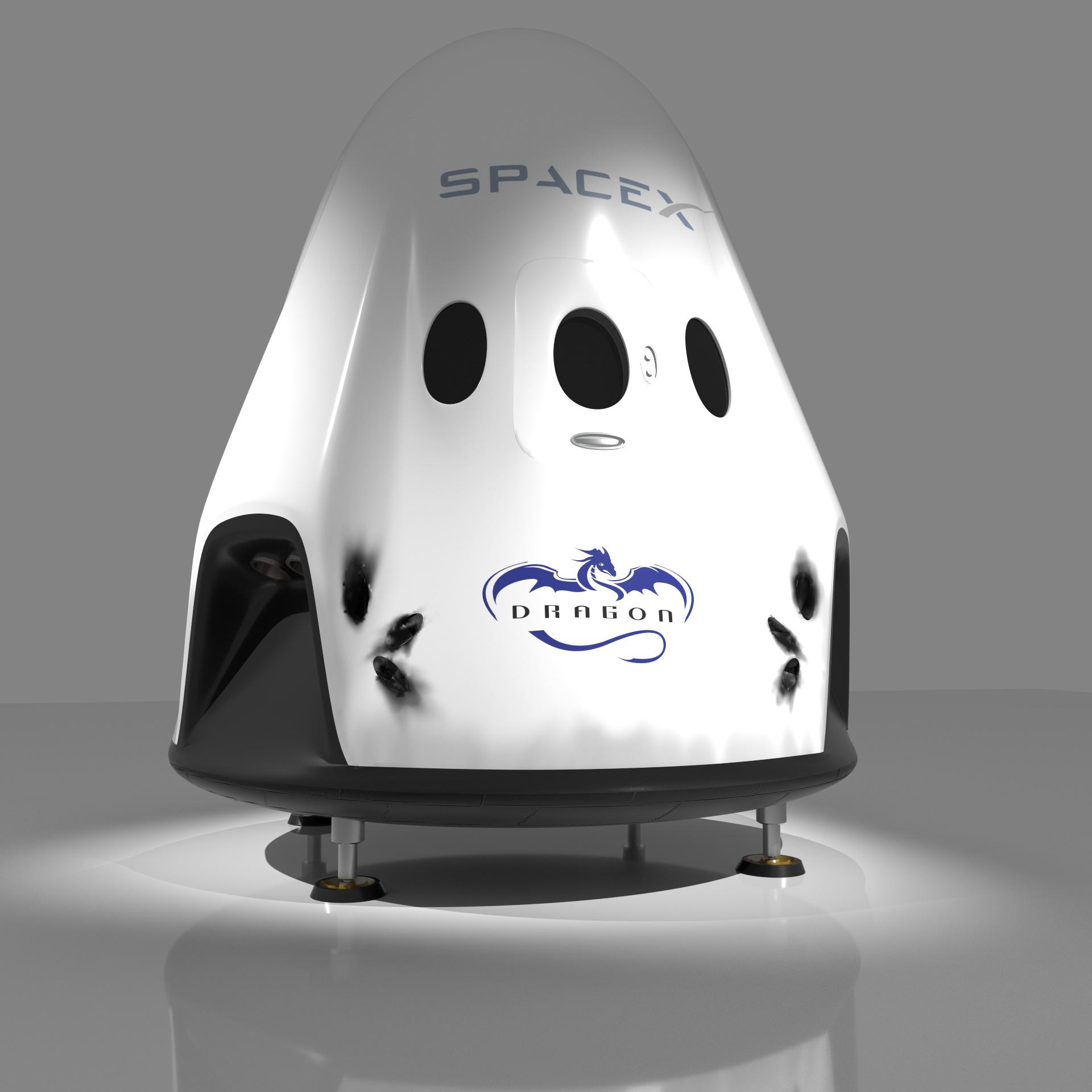 spacex dragon v2 - HD1920×1920