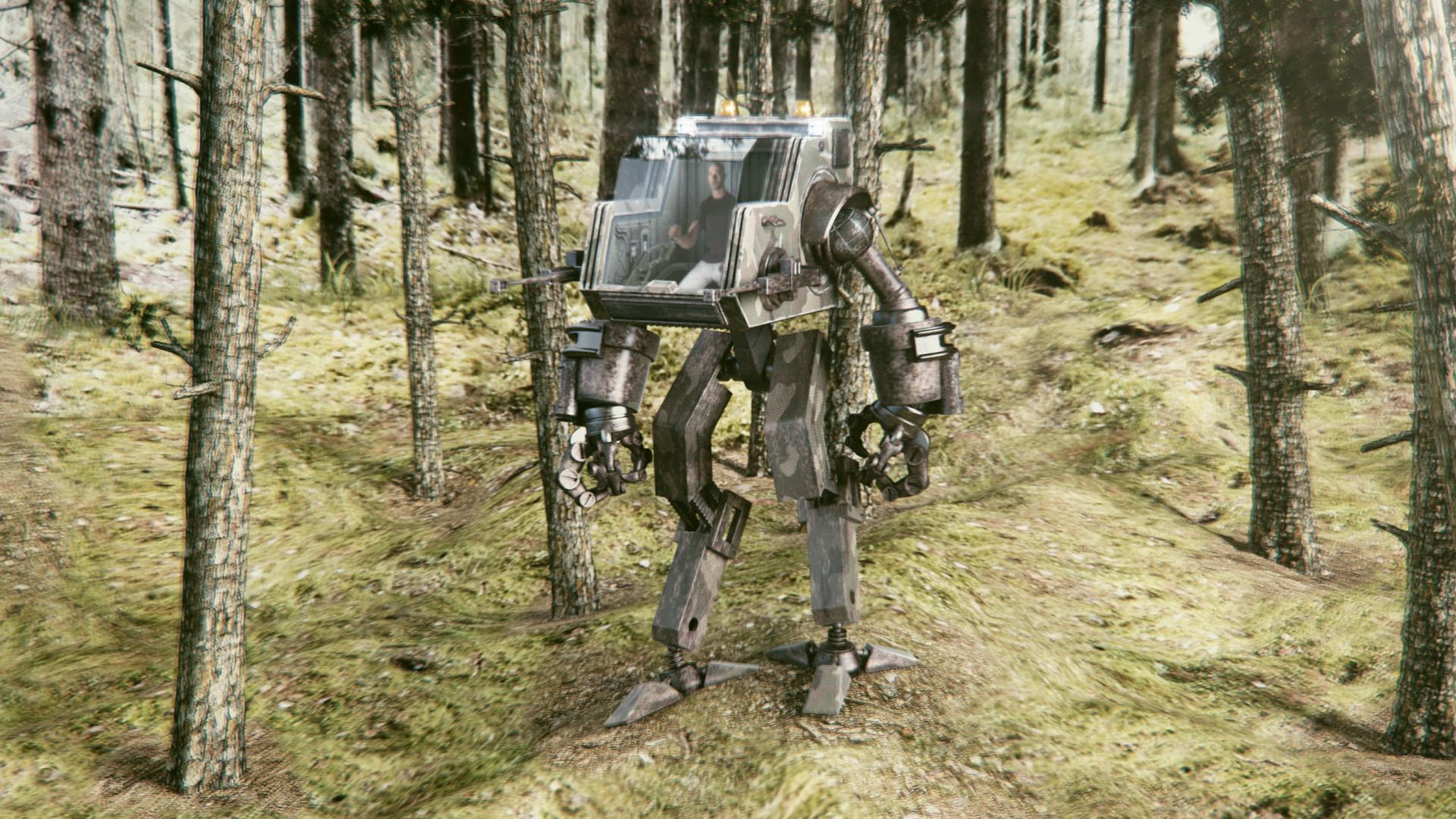 Robot: VFX in Blender  - Finished Projects - Blender Artists