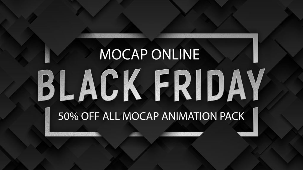 Black Friday Deals: 3D Character Animations, Workstations, Assets