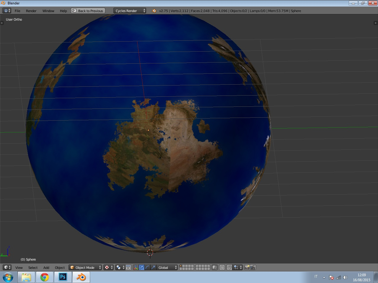 HELP] Planet texture - Materials and Textures - Blender