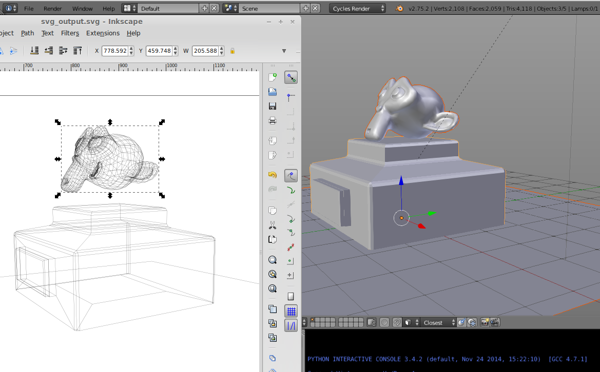 Export (a lot of) curves to svg - Technical Support - Blender