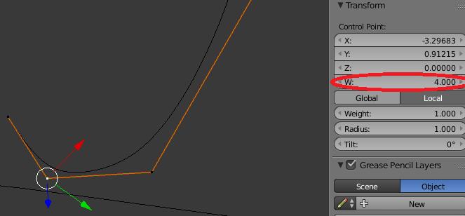 How can I change spline vertex weights? - Python Support - Blender