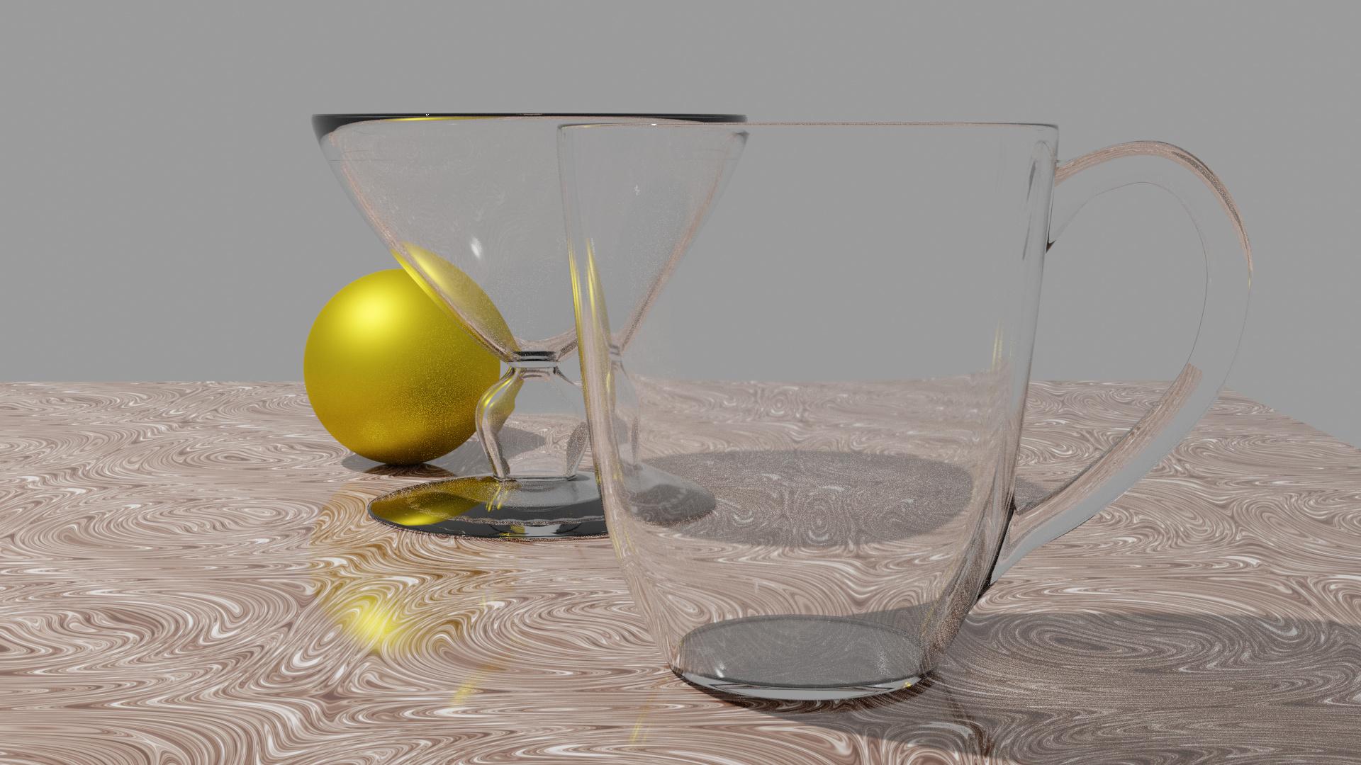 Glasses render 1