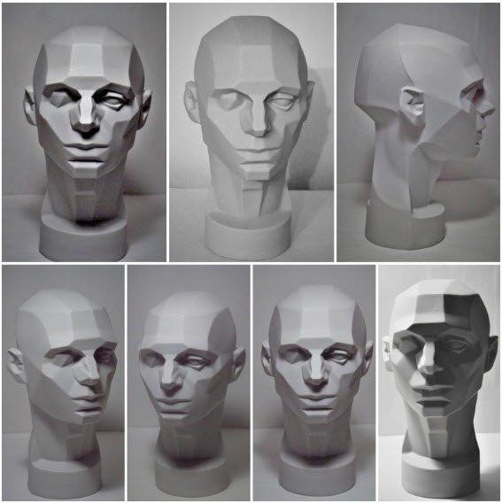 Asaro's Planes of the Head