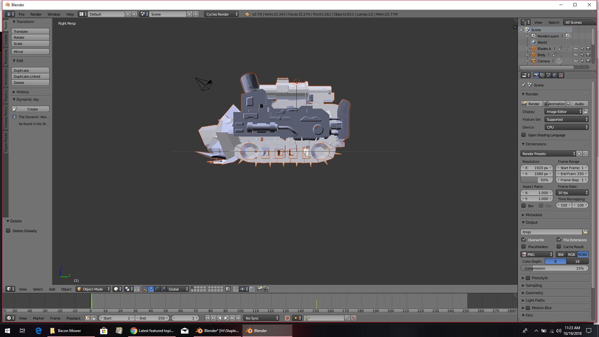 Trying to bake curve animation of Tank wheels - Animation