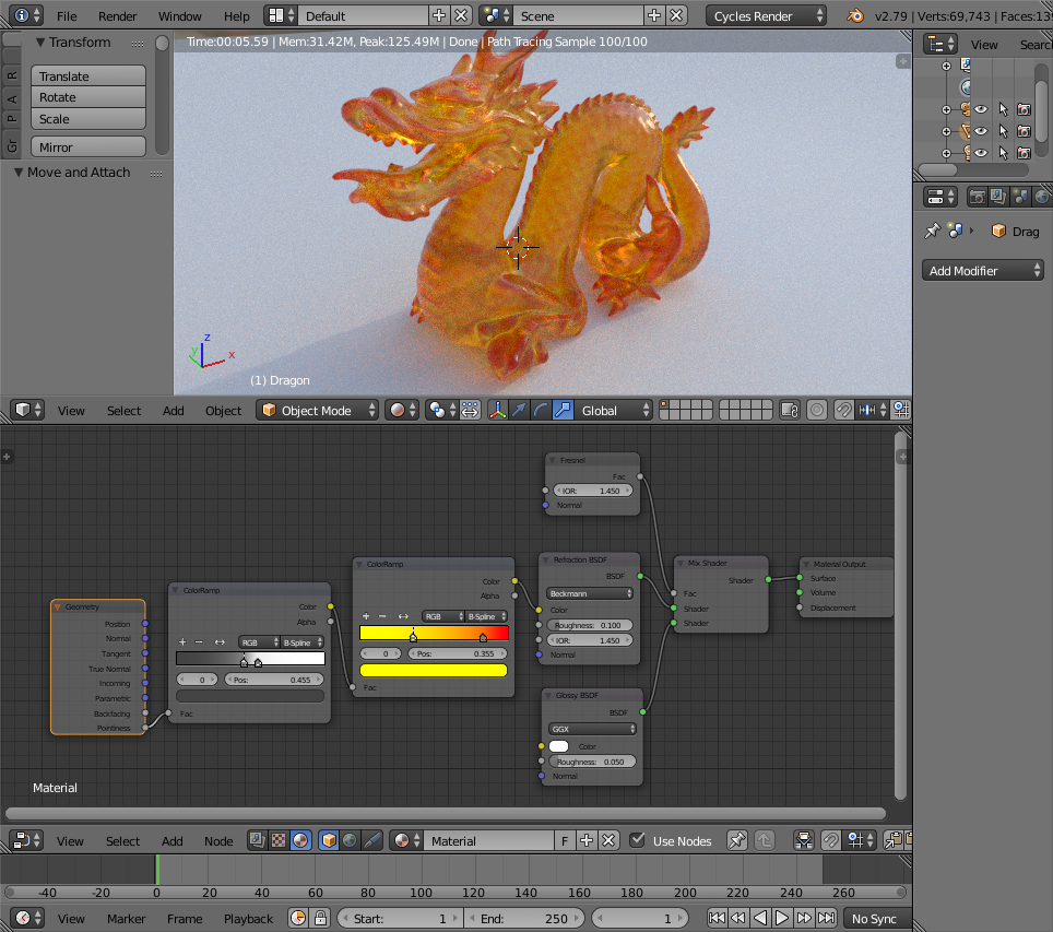 Plastic fire shader - Materials and Textures - Blender Artists Community