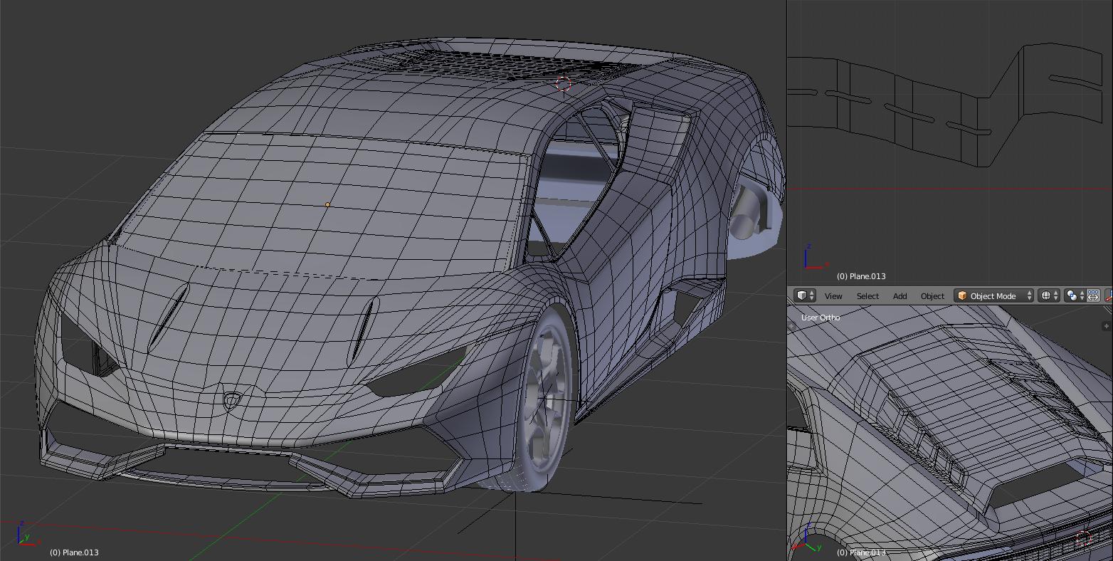 Lamborghini Huracan Finished Works In Progress Blender Artists Community