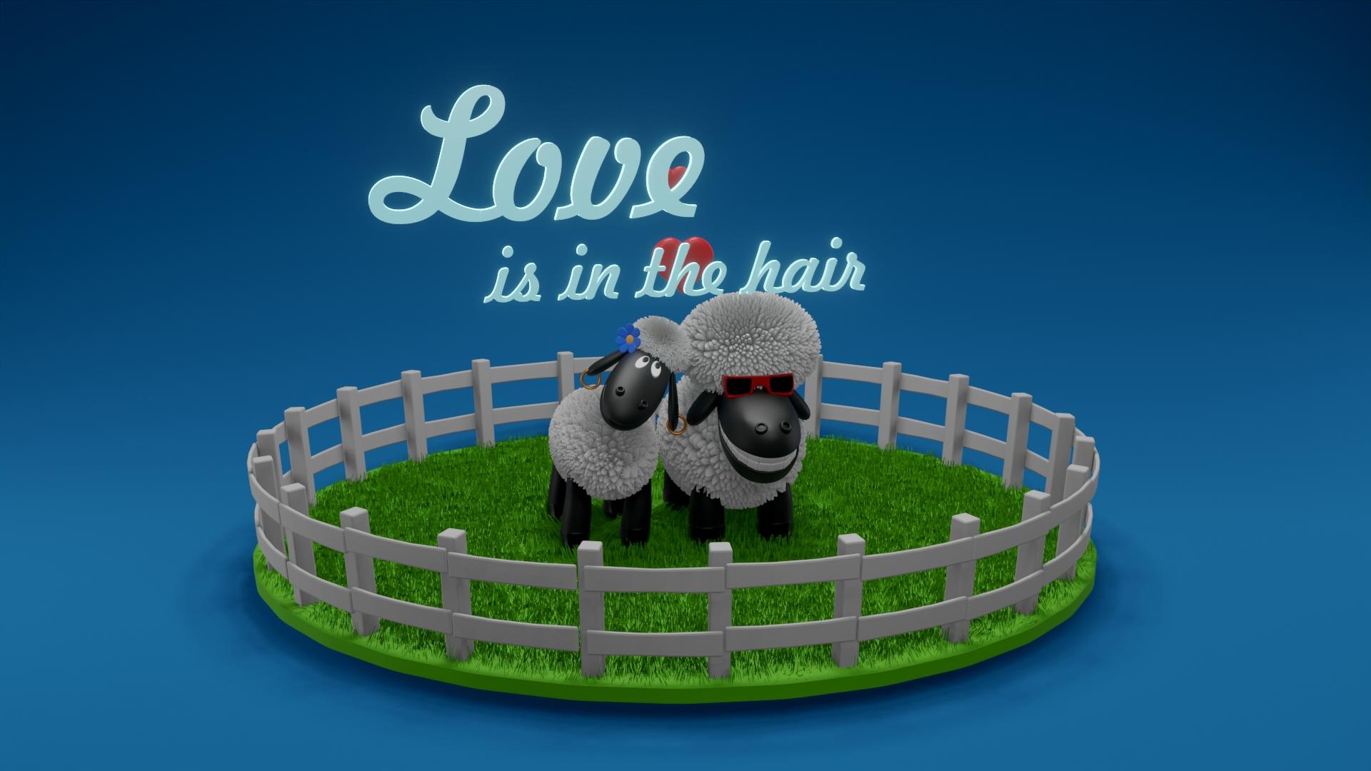 Sheep - Wallpaper