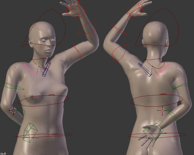 Makehuman Deforms When Posing in Blender - Other Software - Blender