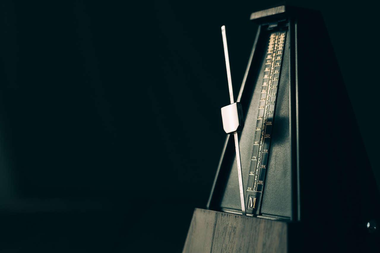 Metronome-practice-photo