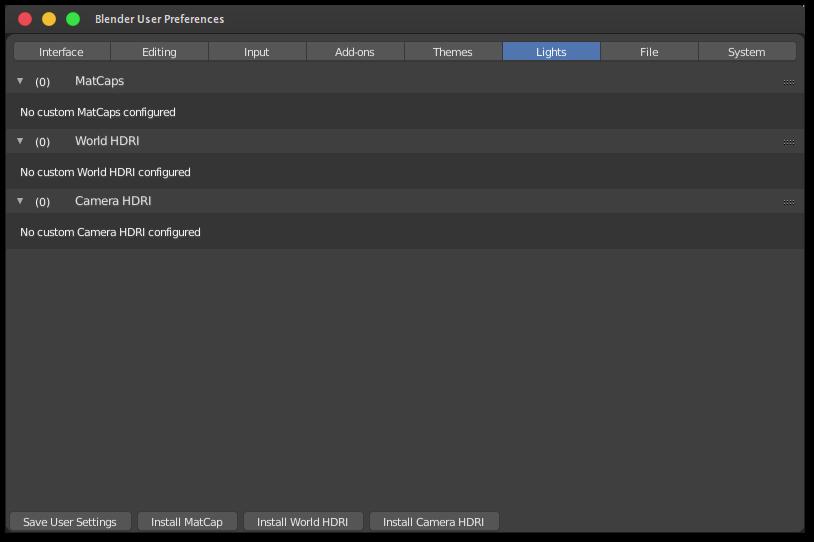 Differece between Blender 2 8's camera and world HDRI