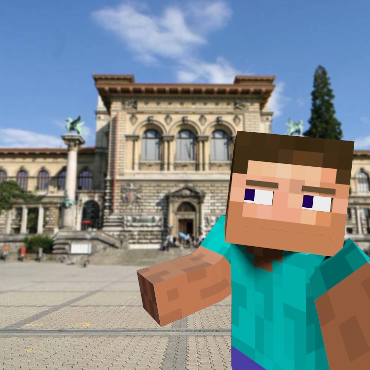 When Minecraft Come In Real Life Focused Critiques Blender