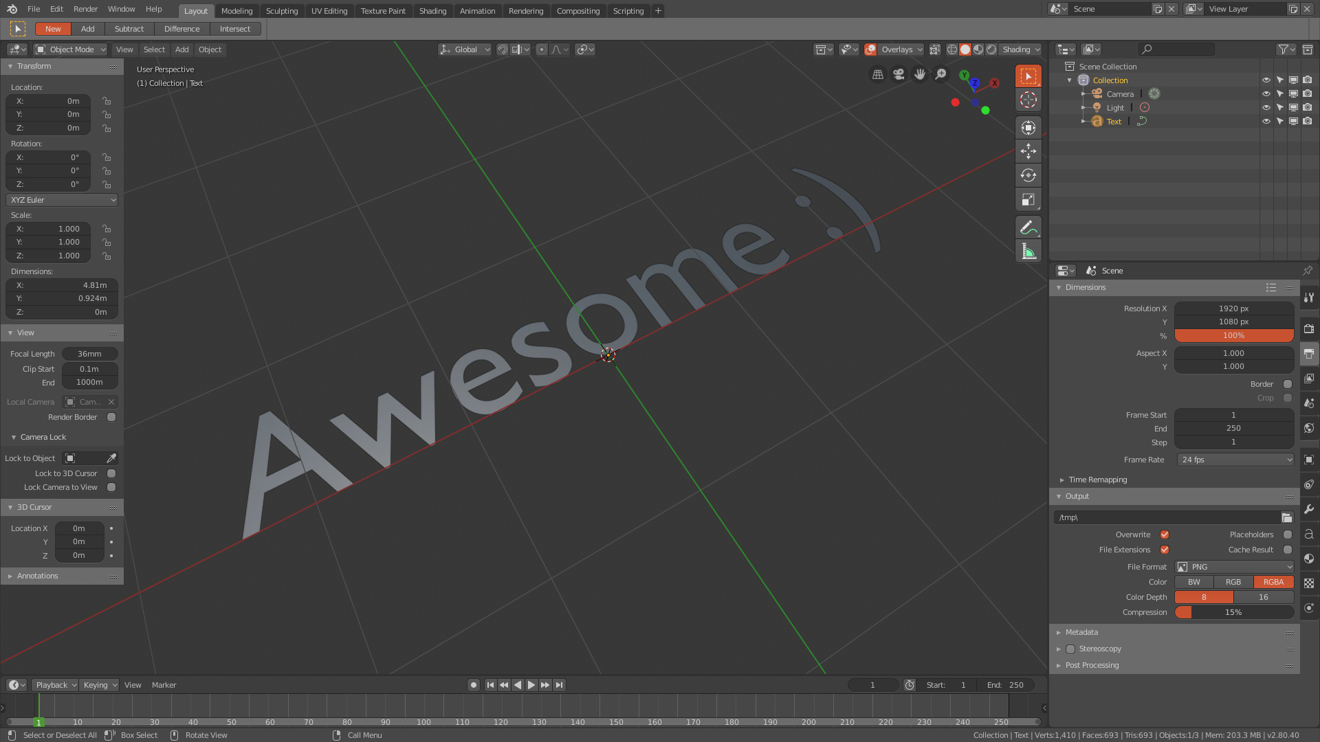 Awesome - Theme for Blender 2 8 - Released Scripts and