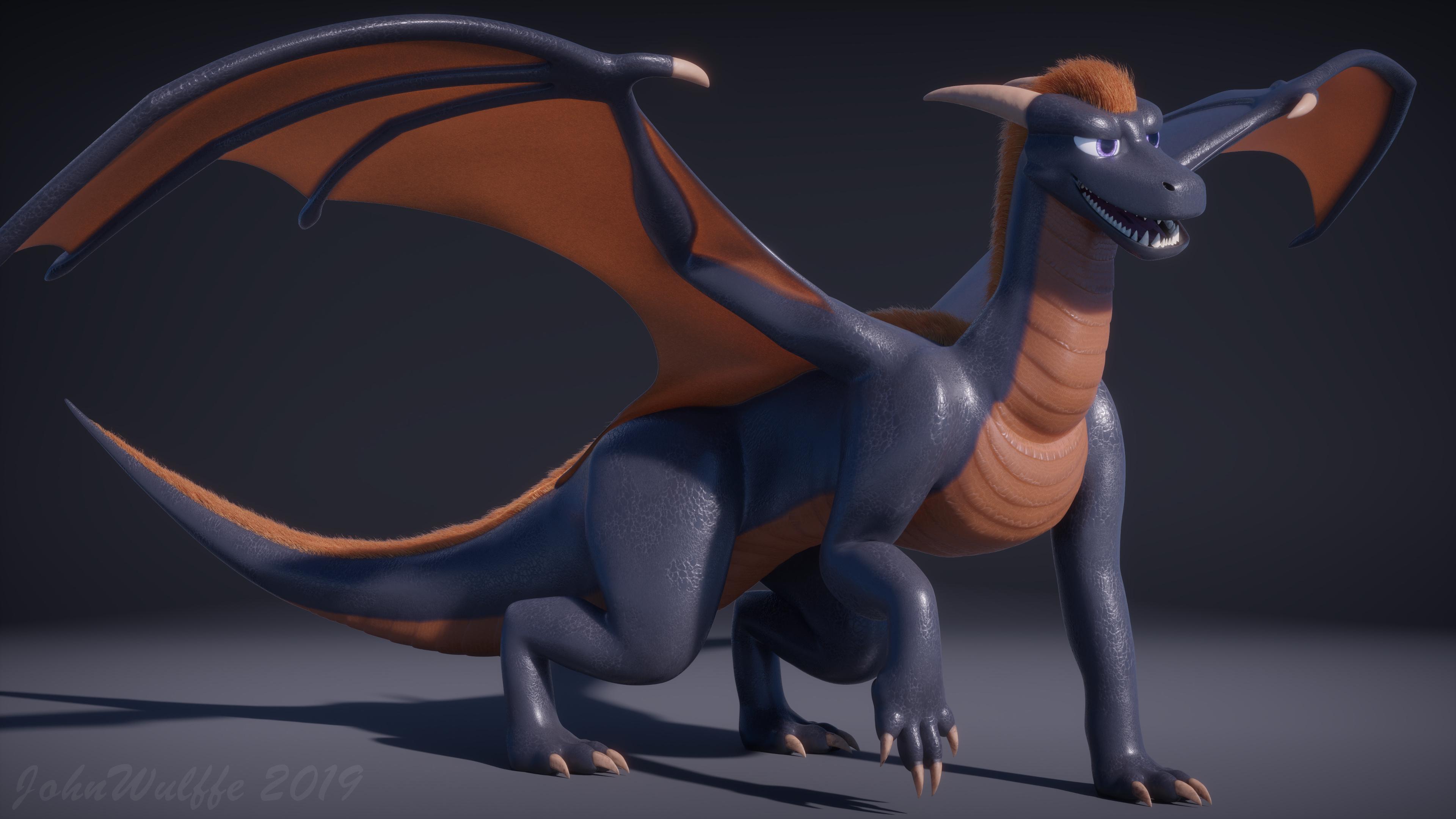 Dragon character - Focused Critiques - Blender Artists Community