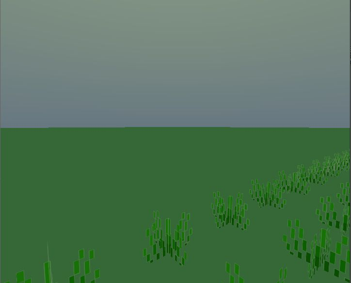 Alpha Texured Grass Weird Outline Game Engine Support And
