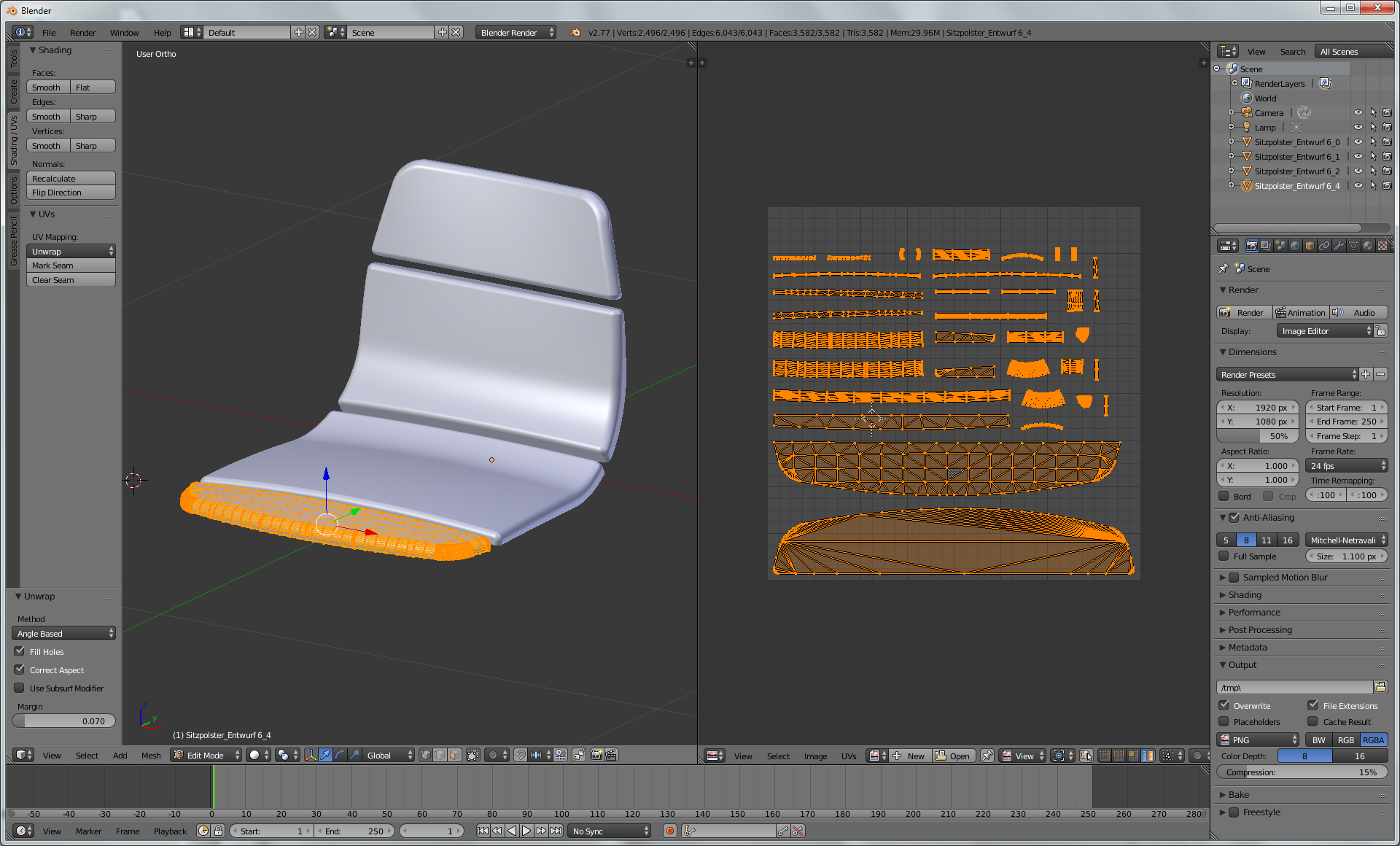 UV Mapping Issues with imported OBJ File - Materials and