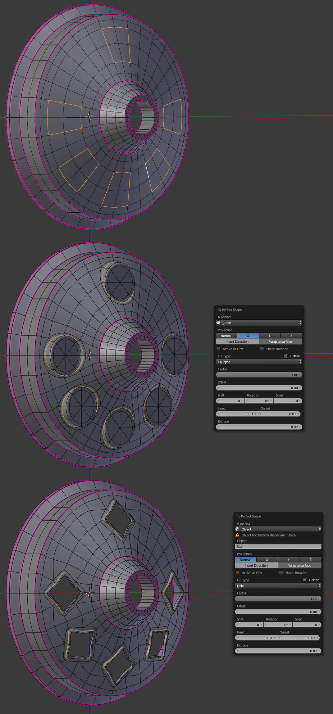 Addon] Perfect Shape - Shape Extrude Tool - Released Scripts and