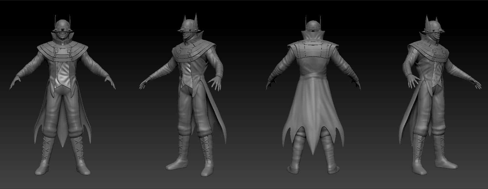 The Batman Who Laughs Finished Projects Blender Artists