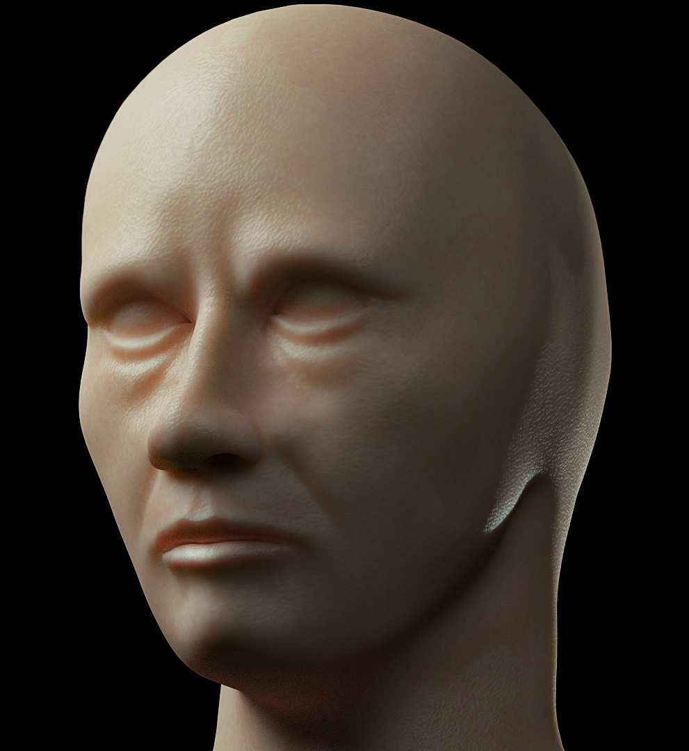 realistic skin??? and head modeling - Focused Critiques